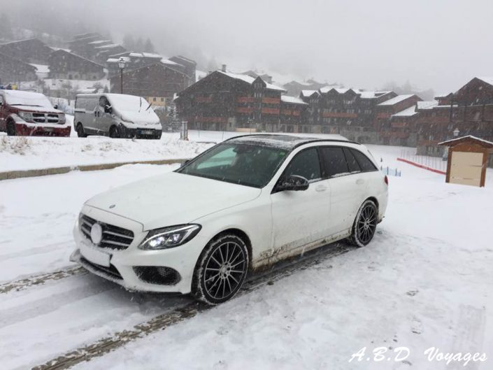 Mercedes Classe C Break ABD Voyages