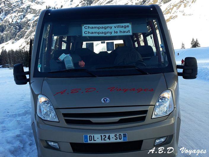 Minibus ABD Voyages